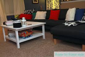 Ikea Hemnes Sofa Table by Living Room