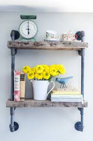 27 best industrial shelf with pipe images on pinterest