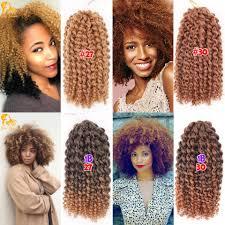 Types Of Braiding Hair Extensions by Aliexpress Com Buy 3pcs Lot Curly Crochet Hair 8 U0027 U0027 Freetress