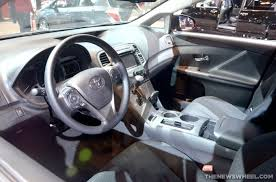 Venza Interior 2014 Toyota Venza Overview The News Wheel