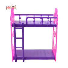 Bunk Bed For Dolls Kid S Play House Toys Doll Accessories Handmade Doll S Plastic