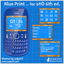 udjo42 themes for nokia c3 udjo42 high quality nokia themes nokia s40 theme blue print
