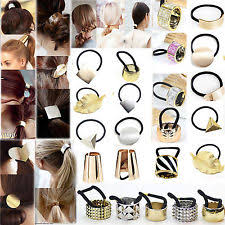 hair cuff metal ponytail holder hair accessories ebay