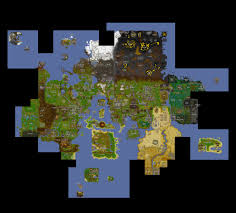 Oldschool Runescape World Map by 07 Map My Blog