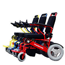 foldable portable light weight electric wheelchair bike battery
