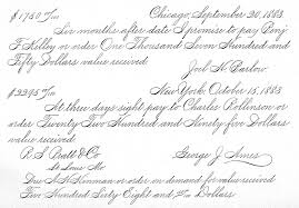 trying to learn spencerian business writing calligraphy