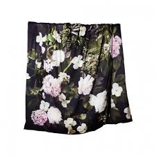 dogwood black duvet cover bonnie and neil