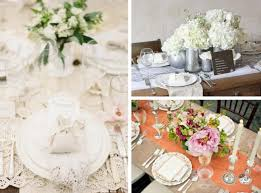 Home Table Decor by Vintage Style Wedding Table Decorations Choice Image Wedding