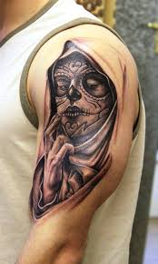 day of the dead tattoo designs u2014 wow pictures