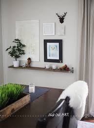 Barnwood Wall Shelves Diy Barnwood And Ikea Bracket Shelf