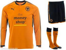 Home Kit Wolverhampton Wanderers Fc 2017 18 Puma Home Kit U2013 Football