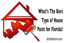 the best type of house paint for florida