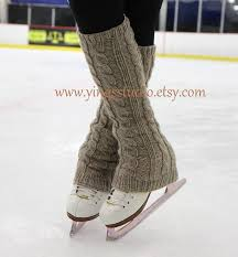 items similar to cable knit leg warmers boot cover 100 wool