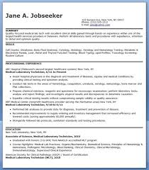 Radiologic Technologist Resume Examples Blood Bank Technician Cover Letter