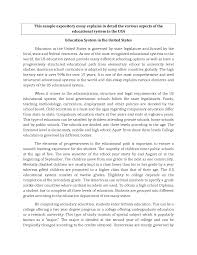 English Example Essay A English Essay Example