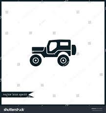 range rover vector suv icon simple camping vector car stock vector 635774405