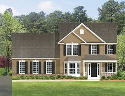 fairmont home model floor plans manor house builders elevation 3