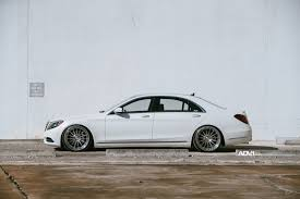 slammed smart car slammed class mercedes benz s class looks amazing on adv 1s mbworld