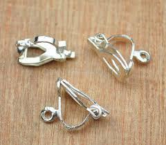 clip on earrings australia 300 pcs silver clip on earrings silver plated clip on earring