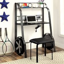 designer computer table kids room black kurv floating desk modern contemporary computer