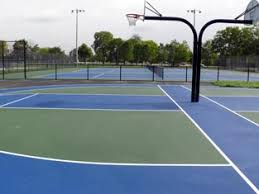 basketball courts with lights near me tennis basketball courts channahon park district