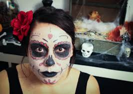 maquillage halloween qui fait peur maquillage happy sweet life