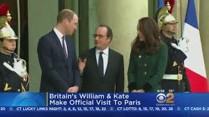 britain u0027s william and kate make official visit to paris youtube