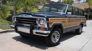 jeep grand wagoneer woody 1 owner new paint u0026 wood amc mopar youtube