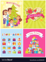 merry best wishes royalty free vector image