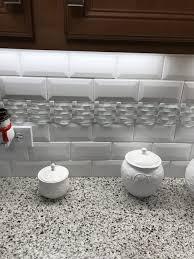 kitchen backsplash kitchen backsplash subway tile with accent