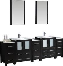 fresca bari torino 84 modern bathroom vanity set with