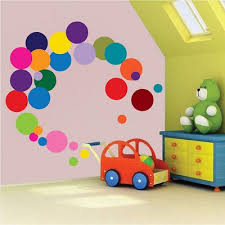 Decals Nursery Walls Colorful Dots Decal Nursery Wall Decal Murals Primedecals