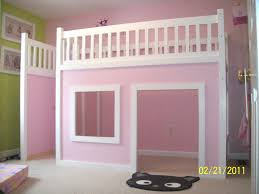 Ana White Camp Loft Bed With Stair Junior Height Diy Projects by Ana White Playhouse Loft Bed Diy Projects Endear Plan Free Birdcages