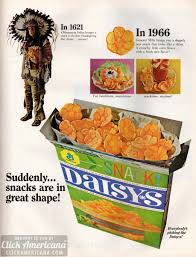 thanksgiving day snacks everybody u0027s picking the daisy u0027s crackers 1966 click americana
