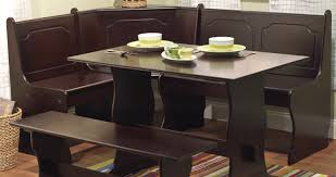 corner nook dining room sets elegant breakfast nook with corner