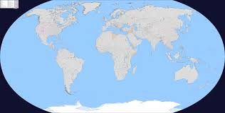 Blank Map Of The World Countries by Blank Political Map Of The World U0027s Countries And Further