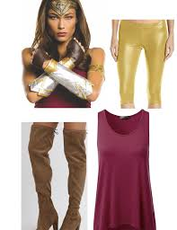 Wonder Woman Accessories 11 Easy Wonder Woman Halloween 2017 Costume Ideas