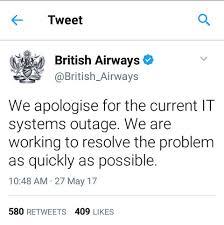 british airways black friday british airways cancels flights due to it failure bellanaija