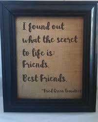 friendship quote photo frame best friend gift fried green tomatoes friend friendship