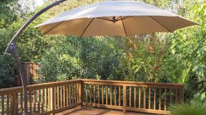 11 Parasol Cantilever Umbrella Sunbrella Fabric by Proshade 11ft Cantilever Umbrella Instruction Youtube