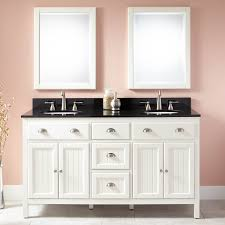 bathroom beautiful 60 inch vanity with double sink and mirror