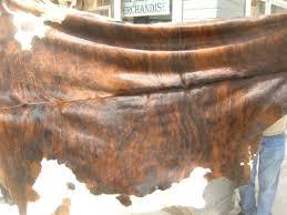 brindle cowhide rug ruxton u0027s trading post