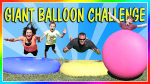 Water Challenge Motion Ultimately Satisfying 7ft Water Balloon Challenge