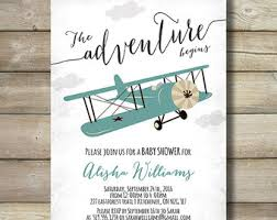 it s a boy baby shower ideas airplane boy baby shower invite invitation clouds plane burlap