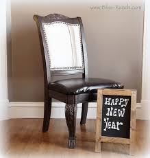 bliss ranch dining room chairs with a vintage grain sack look