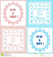 Baby Shower Invite Boy Baby Shower Invitation Card Template Set Boy And Design