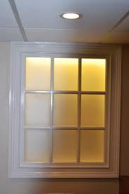 artificial windows for basement faux basement windows by monk s food pinterest basement