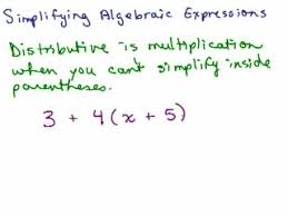 combining like terms help video in high math algebra