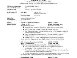 Usajobs Com Resume Builder Download Usajobs Resume Sample Haadyaooverbayresort Com