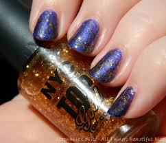 nyc nail polish in top of the gold top coat swatches u0026 review